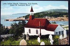 CANADA~1900's TADOUSSAC ~ LITTLE INDIAN CHURCH ~ First Church in Canada