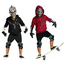 Skateboard Costume Kids Skate or Die Punk Skeleton Halloween