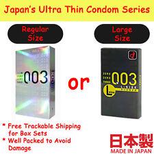 Condom Okamoto 003 0.03 Zero Three Extreme Extra Thin Latex Regular or Large L
