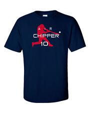 """Chipper Jones Atlanta Braves """"Air Chipper"""" jersey T-shirt  S-5XL"""