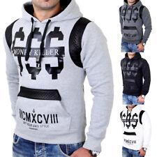 Madmext Sweatshirt Herren Kapuzen Pullover Money Killer Print MDX-1196 Neu