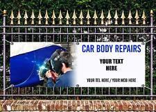 Outdoor PVC carbody riparazioni vernice lavoro BANNER SIGN Pubblicità gratuita Arte Lavoro pronti