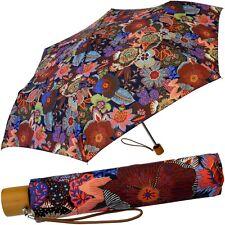 OILILY Damen Regenschirm Taschenschirm Schirm Lady Umbrella Ombrello Paraguas