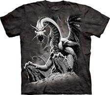 The Mountain Kinder T-Shirt riesiger schwarzer Drachen S - XL