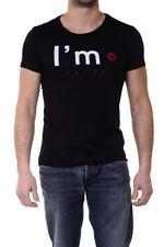 T-shirt Maglietta I'M C Couture T-Shirt Sweatshirt -50% Uomo Nero IMC76-