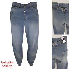 jeans levis engineered 002 levi's uomo donna largo ip hop rap blu lose W28L34