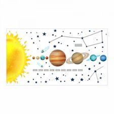 nikima - 133 Wandtattoo Sonnensystem Planeten Mars Mond Kinderzimmer