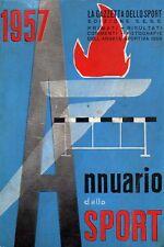 ANNUARIO DELLO SPORT 1957-ED.SESS  GAZZETTA DELLO SPORT