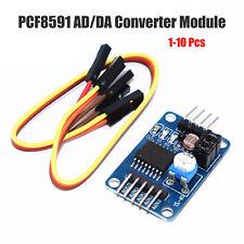 1-10pc PCF8591 AD/DA Converter Module Analog To Digital Conversion Arduino+Cable
