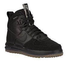 29817ae70d868 Nike Lunar Force One 1 Sneakerboot Duckboot Blk w  Gum Bottom Wheat Sole