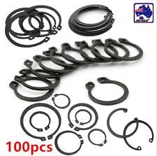 100pcs 6mm-32mm Steel Internal / External Circlip Retaining Ring Snap TEBO48