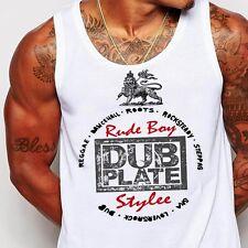 Reggae T-Shirt Haile Selassie I Jah Rastafari Vintage Dancehall Rub-a-Dub cotton