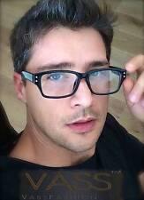 Fashion Rectangular Rectangle Thick Frame Clear Lenses Men Eyeglasses Glasses