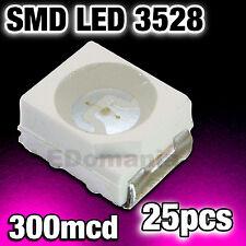 178/25# LED rose CMS 3528 25 pcs --- 300mcd Pink smd Plcc-2 TL