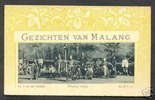 Wayang Orang Art Nouveau Malang Java Indonesia ca 1899