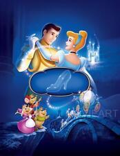 Poster de película de Cenicienta sin diálogo película de Disney A4 A3 impresión De Arte Cine