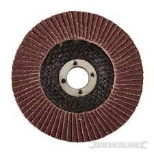 100mm 115mm Aluminium Oxide Flap Disc – Angle grinder Sanding Deburring Polish
