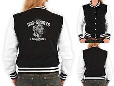 Damen College Jacke - Dalmatiner Motiv - Dalmatiner - Hunderasse Freizeit Jacke