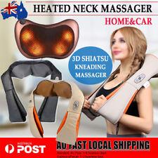 Shiatsu Massage Infrared Heating Neck Pillow Cushion Relief Massager Home & Car