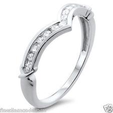 0.25ct Round Diamonds Wishbone Shaped Half Eternity Wedding Ring in 950 Platinum