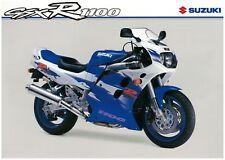 SUZUKI Brochure GSXR1100 GSXR1100W 1994 Sales Catalog REPRO