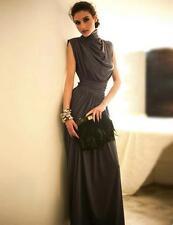 Kaftan Abaya Jilbab Muslim Islam Women Party Turtleneck Long Maxi Evening Dress