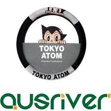 Astro Boy Tokyo Atom for Tezuka Car Steering Wheel Cover M size 38cm Grey&Black