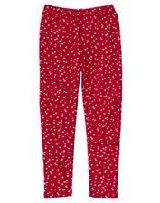 GYMBOREE PENGUIN CHALET RED w/ STARS LEGGINGS 3 4 5 6 7 8 9 NWT