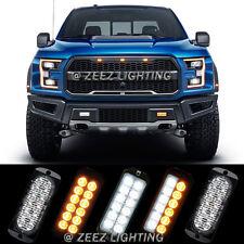 12 High Power LED Emergency Hazard Warning Flash Strobe Beacon Caution Light Bar