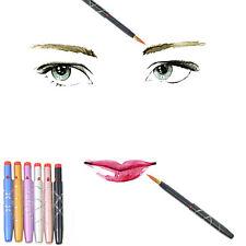 5Pcs Brosse Pinceau à Lèvres Gloss Liner Rétractable Maquillage Cosmétique
