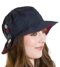 b566d1bc16f The Hat Company Bramcote Ladies wax cotton cloche hat