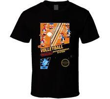 Volleyball NES Classic Nintendo Video Game Box Art T Shirt