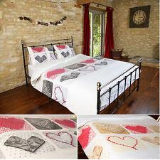 """Ardour"" Thermal Brushed Cotton Flannelette Duvet Quilt Cover Bedding Set"