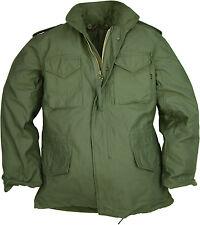 Original ALPHA M65 Field Jacket Olive Green Black