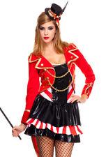 Music legs womens circus ringmaster dress costume