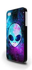 Hipster Alieno Spazio Nebulosa Stelle Cadenti COVER CUSTODIA PER IPHONE 4/4s 5/5s 5c 6 6 Plus