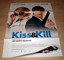 Filmposter A1 Neu Kiss & Kill ( and ) Ashton Kutcher