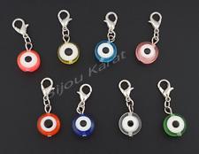 Nazat boncuk charm colgante para pulsera Charms beads Evil Eye ojo perlas colores