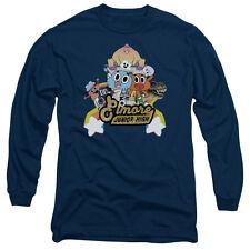 Amazing World Of Gumball Elmore Junior High Mens Long Sleeve Shirt