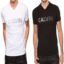 T shirt Calvin Klein Homme manche courte noir ou blanc CMP50S Taille S M L XL