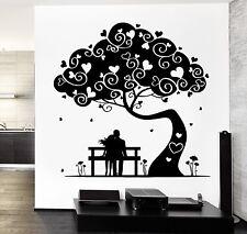 Wall Decal Magic Tree Love Romantic Hearts Vinyl Sticker (z3647)
