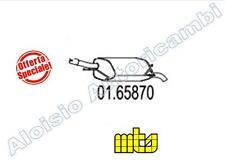 0165870 MARMITTA / TERMINALE MTS OPEL CORSA C 1.0 58/60CV DAL 09/2000 -> 12/2006