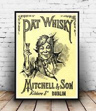Pat Whisky, Vintage Reproducción de Publicidad Cartel, Pared Arte.