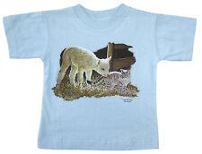 Kinder Baby T-Shirt 68 74 80 86 98 104 116 128 ♥ Lämmlein + Kätzchen • 08202 •