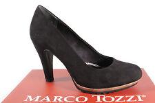 Marco Tozzi 22412 Zapatos De Tacón Mocasines mocasínes Negro Suave Suela