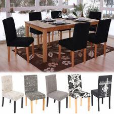 Set 6x sedie Littau tessuto per sala da pranzo 43x56x90cm colore a scelta