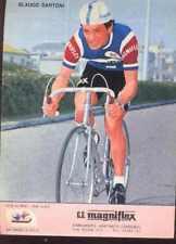 GLAUCO SANTONI Cyclisme MAGNIFLEX 75 ciclismo Cycling equipo ciclista 1975 vélo