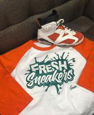 Raglan Shirt Match Jordan 6 Gatorade Win Like Mike - Fresh Sneakers Raglan Tee