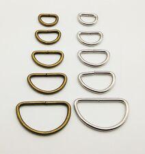 D Ring Loop Metal Nickel Antique Handbag Rings Loops Belt BUCKLE Leather craft