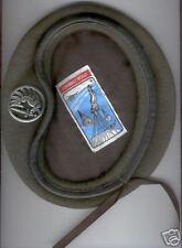 Béret vert + insigne / Légion Etrangére 2e REP neuf taille 58
